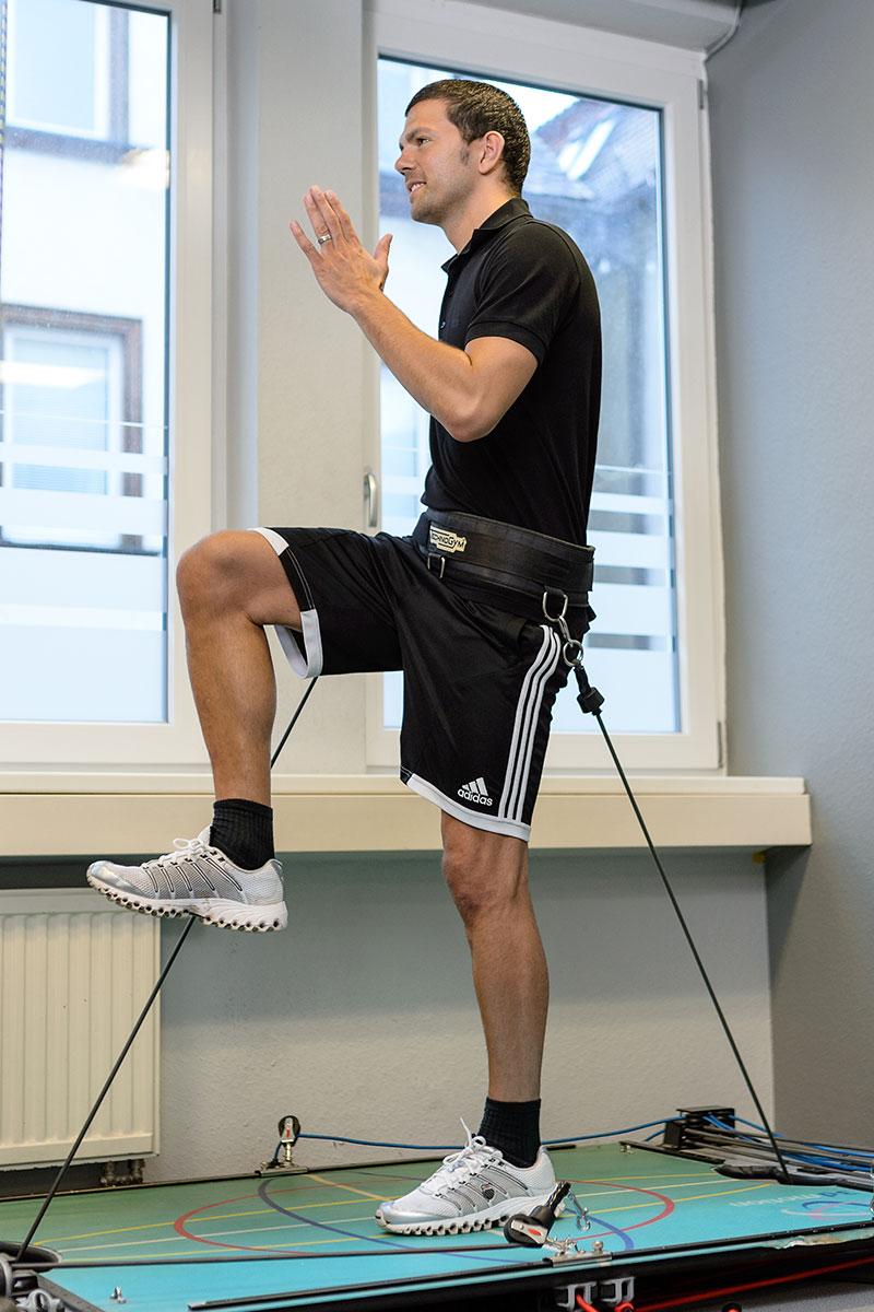 Medizinische Trainingstherapie beim Reha-Zentrum Eisele